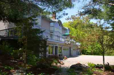 Stowe Single Family Home For Sale: 180 Hidden Valley Road