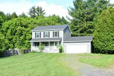 Milton Single Family Home For Sale: 52 Railroad Street