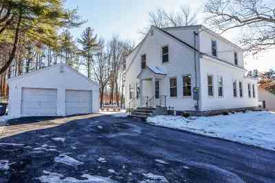Hooksett Single Family Home Active Under Contract: 28 Benton Road
