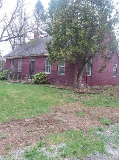 Middlesex Single Family Home For Sale: 176 Three Mile Bridge Road