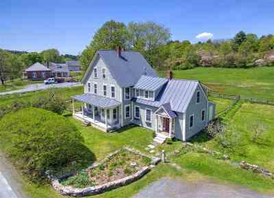 Hanover Single Family Home For Sale: 138 Etna Road