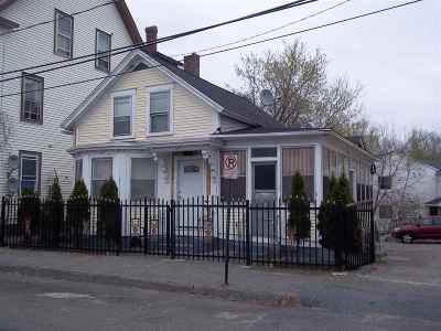 Manchester Single Family Home For Sale: 35 Nashua Street