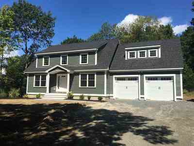 Dover Single Family Home For Sale: Lot 1 Leathers Lane #1