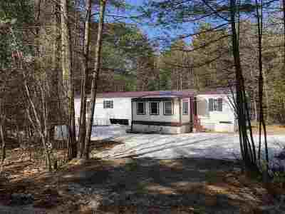 Carroll County Mobile/Manufactured For Sale: 4 Mt Shaw Road