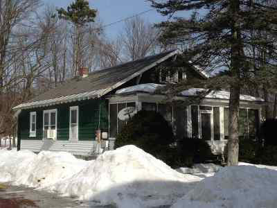 Poultney Single Family Home Active Under Contract: 90 Rae Terrace