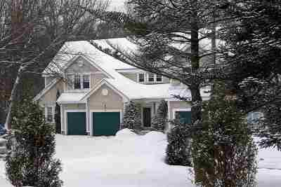 Chittenden County Condo/Townhouse Active Under Contract: 34 Larch Road Road