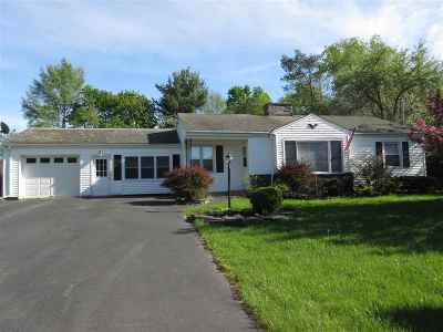 Rutland City VT Single Family Home For Sale: $175,000