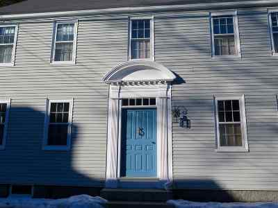 Portsmouth Single Family Home For Sale: 99 Gates Street