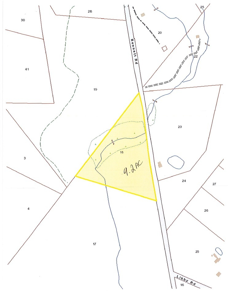 Map 264 Lot 18 Bennett Road New Durham Nh Mls 4677841