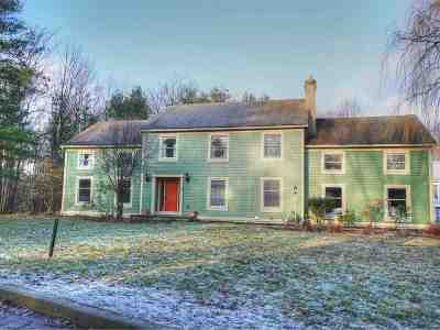 Chittenden County Single Family Home For Sale: 7 Brownell Way