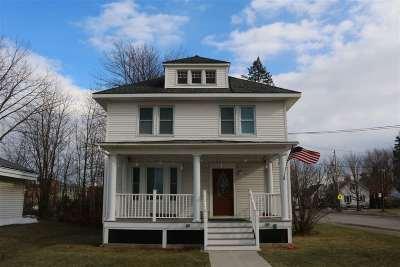 Enosburg Single Family Home For Sale: 186 Main Street