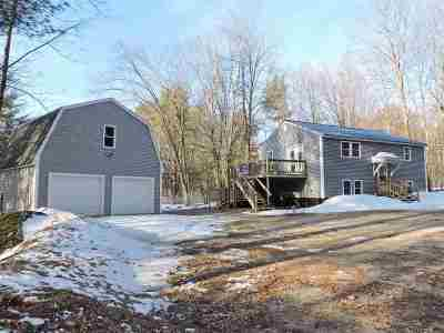 Weare Single Family Home Active Under Contract: 87 Upper Craney Hill Rd