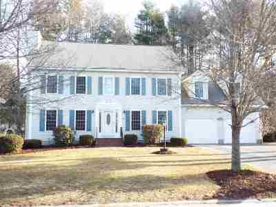 Bedford Single Family Home Active Under Contract: 231 Pulpit Road