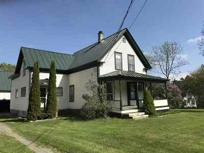 Hartland Single Family Home For Sale: 672 Route 5 Route