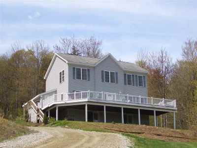 West Rutland Single Family Home Active Under Contract: 957 Clark Hill Road