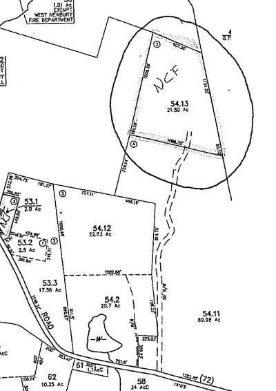 Newbury Residential Lots & Land For Sale: Lot 3 Cole Road