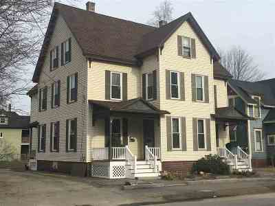 Concord Multi Family Home Active Under Contract: 3-5 Badger Street