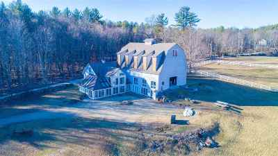 Amherst Single Family Home For Sale: 92 Christian Hill Road