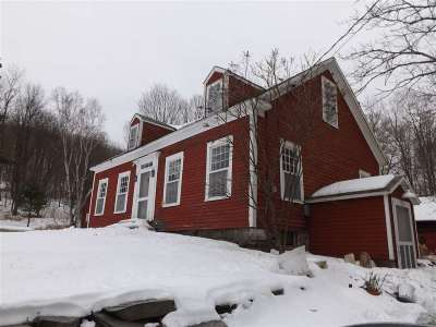 Pawlet Single Family Home For Sale: 407 Red Top Road