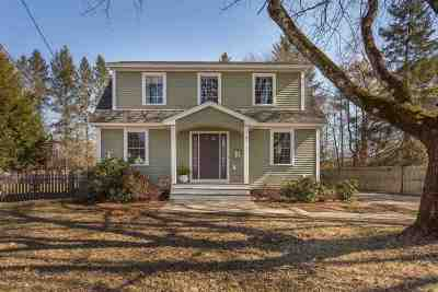 Newmarket Single Family Home Active Under Contract: 10 Maplecrest Street