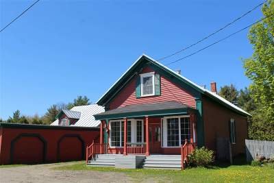 Berkshire VT Single Family Home For Sale: $299,000