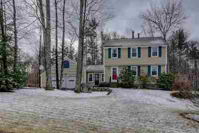 Merrimack Single Family Home Active Under Contract: 7 Cummings Road