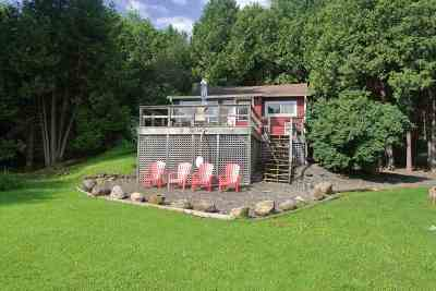 Grand Isle County Single Family Home For Sale: 5616 Us Route 2