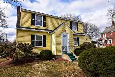 Concord NH Single Family Home Active Under Contract: $237,900