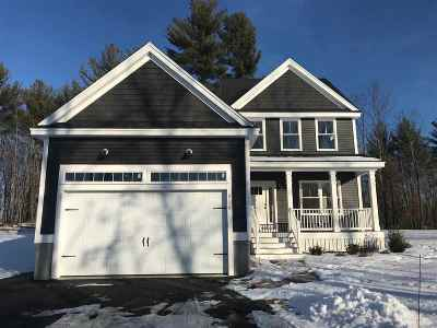 Dover Single Family Home For Sale: Lot 30 Emerald Lane