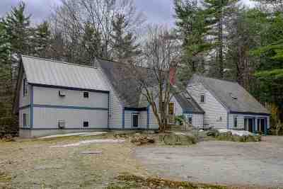 New Boston Single Family Home Active Under Contract: 156 Joe English Road