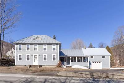 Sharon Single Family Home For Sale: 4866 Vermont Rt 14