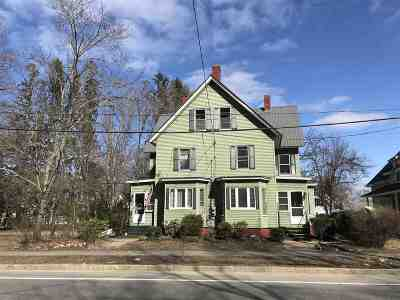 Concord NH Multi Family Home For Sale: $309,000