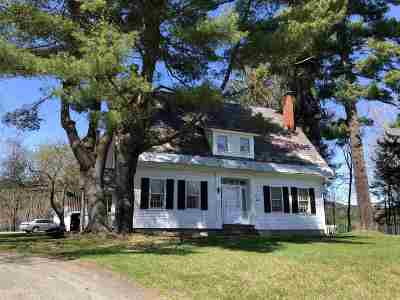 Hartland Single Family Home For Sale: 25 Route 5