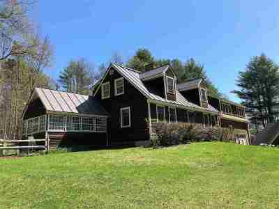 Woodstock Single Family Home For Sale: 2605 Cox District Road