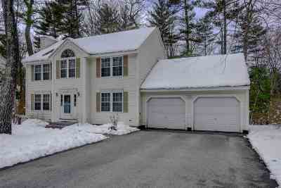 Merrimack Single Family Home For Sale: 37 Cambridge Drive