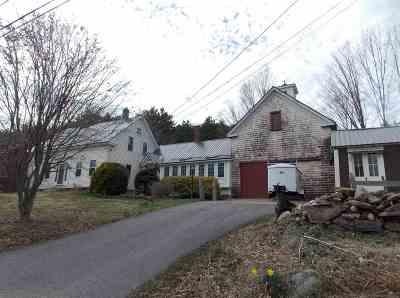 Tilton Single Family Home For Sale: 262 Lancaster Hill Road