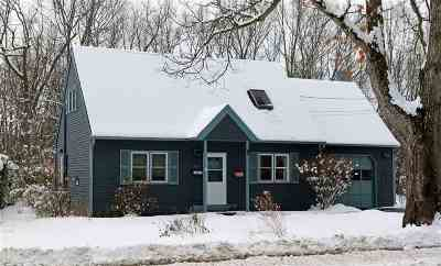 South Burlington Single Family Home For Sale: 121 Kirby Road