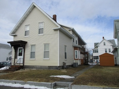 Manchester Multi Family Home Active Under Contract: 382 Central Street