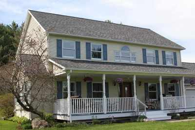 East Montpelier Single Family Home For Sale: 1733 Us Rte 2 Highway