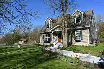 North Hero Single Family Home For Sale: 290 Carry Bay Lane