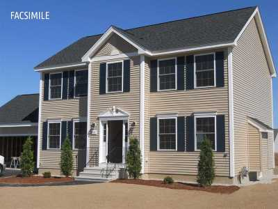 Hooksett Single Family Home Active Under Contract: Lot 13-135 University Circle #Lot 13-1