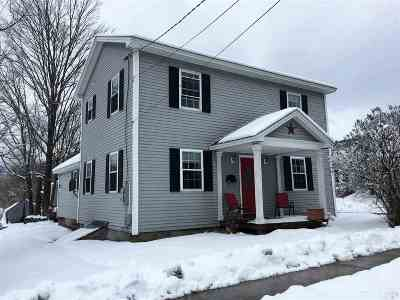 Poultney Single Family Home For Sale: 128 Grove Street