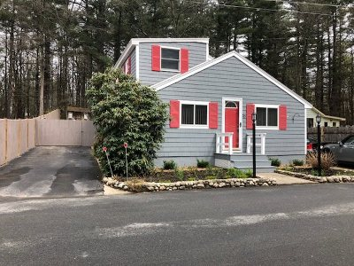 Salem Single Family Home For Sale: 20 Millville Terrace