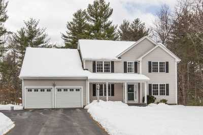 Merrimack Single Family Home For Sale: 4 Kelly Way