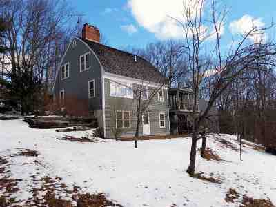 Bristol Single Family Home Active Under Contract: 1344 Peaked Hill Road