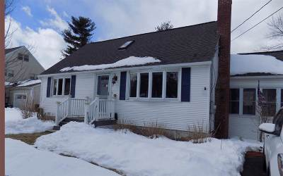 Salem Single Family Home Active Under Contract: 7 Ruth Street