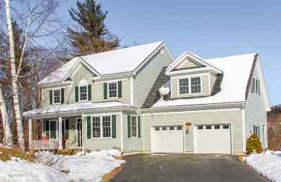 Chittenden County Single Family Home For Sale: 126 Allen Drive