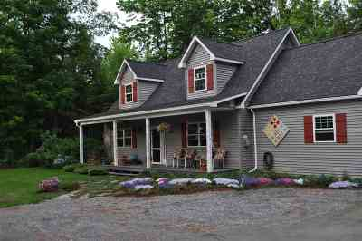 Morristown Single Family Home For Sale: 1242 Cady's Falls Road