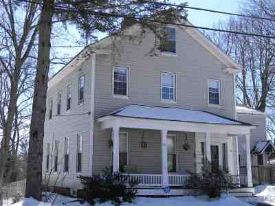 Concord NH Single Family Home For Sale: $169,000