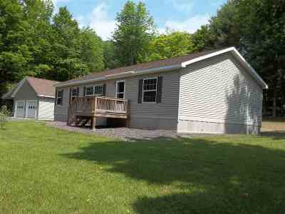 Poultney Single Family Home For Sale: 4381 Vermont Route 30 Road